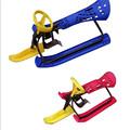 Children Adult Snow Slide Plate Sled with Steering Wheel Safe Foot Brake XQ05 Snow Sled