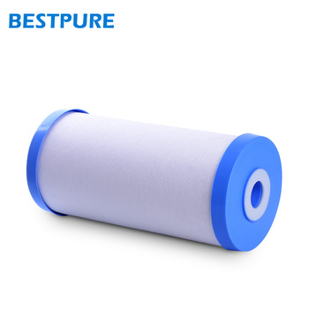 Hot sale 10 inch big blue activated carbon pp yarn water filter cartridge for Household Purifier