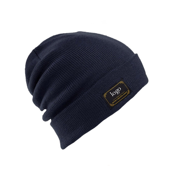 0c9d8fdae Wholesale High Quality Custom Funny Beanie/flexfit Wool Knitted Blank  Beanie Hat With Custom Woven Label Winter Warm Hat - Buy Wool Beanie  Hat,Winter ...
