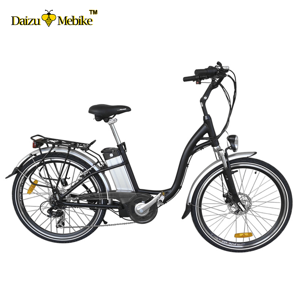 "26"" adult Electric Bike 2 wheel aluminum alloy 36v li-ion battery 2 wheel city classic Electric Bicycle"