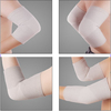 Soft breathable knitting fabric for volleyball basketball far infrared cotton bamboo charcoal orthopedic hinge elbow protector