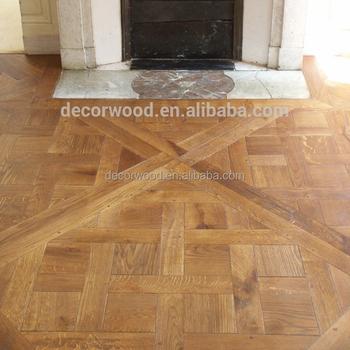 Rustic Oak Wood Versailles Parquet