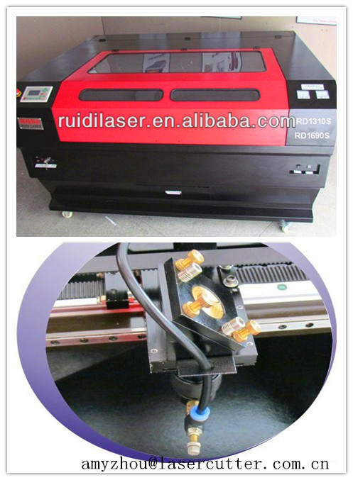 CNC CO2 Multi-Head laser cutting acrylic/cloth machine RD-1690 with 80w/120w/150w Items low price