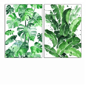 5D Diy Full Diamond Painting Green Leaves Embroidery Mosaic Arts