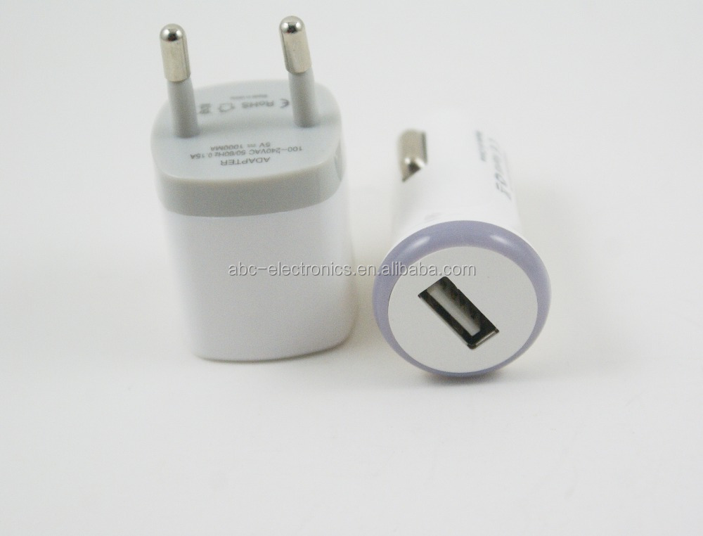 LED car charger +EU/US wall charger for phones build in IC PCB high quality factory direct selling