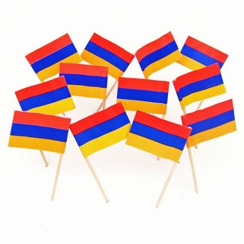party suppliers christmas garden flag party toothpick flag