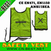 Cleansing Reflective Safety mesh Bib In Net Stich Reflective Strips,reflective bib vest for South Africa