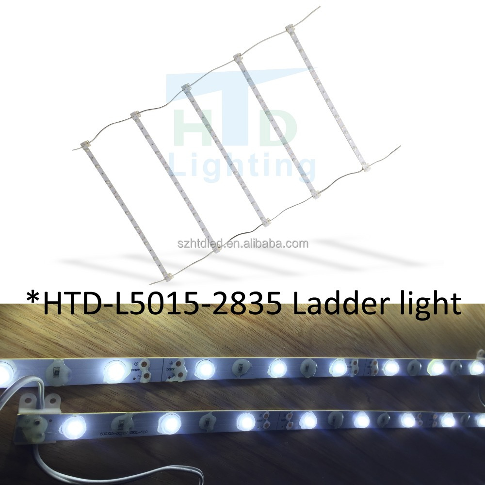 LED lattice ladder light for lighting box