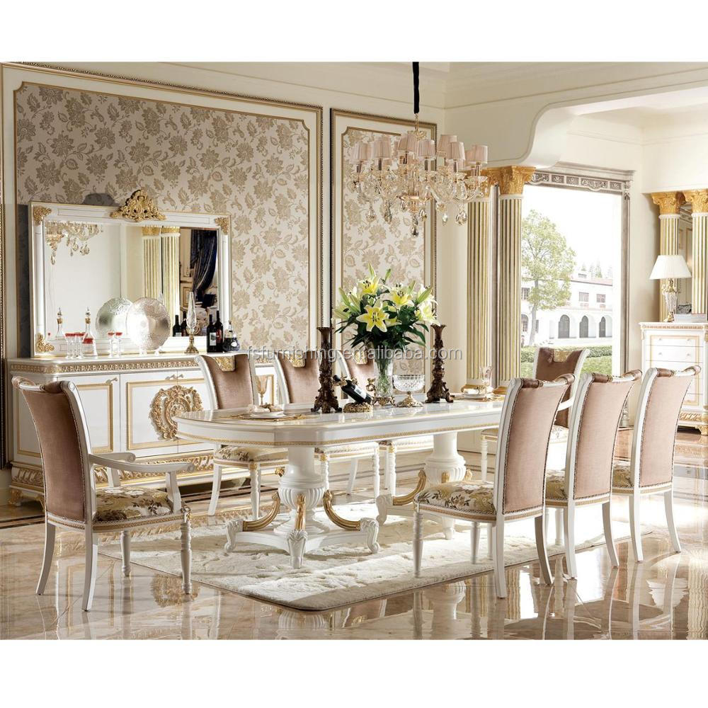 Yb62-1 Luxury Dining Room Furniture Set /antique Classical