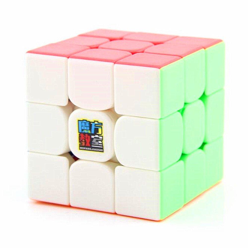 CuberSpeed Moyu MoFang JiaoShi MF3RS2 Stickerless Bright 3x3x3 Magic cube Cubing Classroom MF3RS V2 3X3 stickerless Speed cube