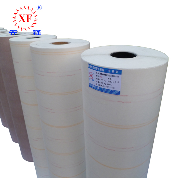 Xianfeng 6640 Nomex Mylar Laminated NMN Insulation Paper For Slots