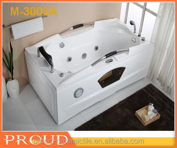 Adult Portable Bathtub white colour with handle