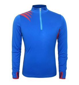 mens 1/4zip pull over sweatshirts polyester muscle t-shirt with custom logo bulk wholesale clothing garment direct supplier
