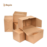 Customized White Corrugated Carton Box Packaging Cardboard Paper Box