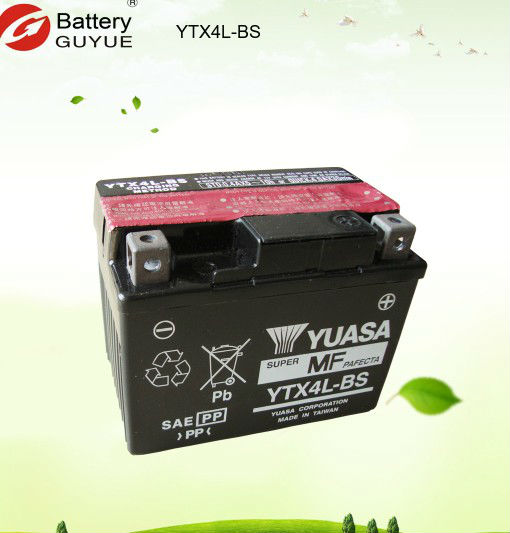 12v maintenance free motorcycle battery OEM for GS Yuasa