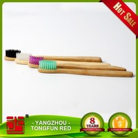 Colorful Bristle Bamboo Toothbrush Cheap Hotel Adult / Kid Toothbrush