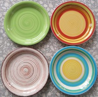 China alibaba wholesale ceramic plate, restaurant used ceramic plate, plates for dinner