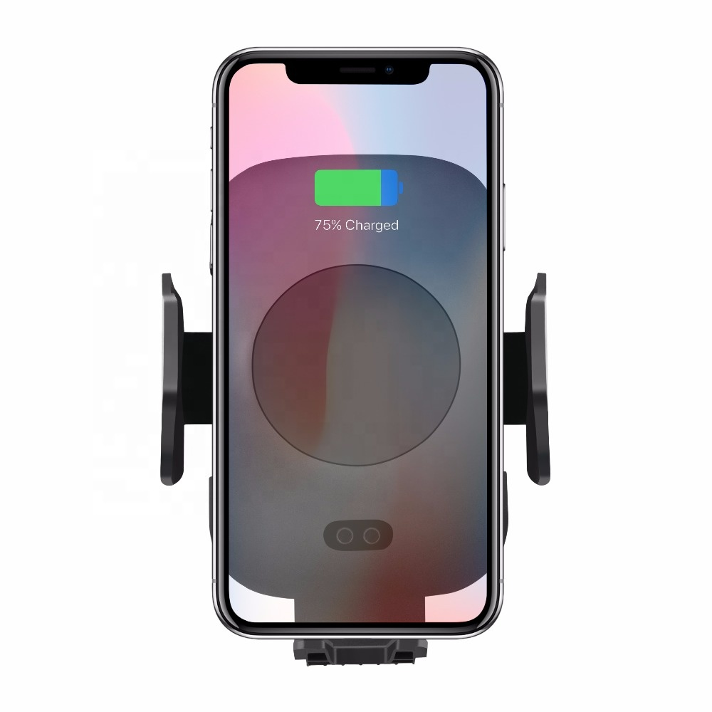 Automatically Auto-sensing Wireless Car charger Air Vent Phone Mount Holder for iphone x/ iphone 8 plus/ iPhone 8 фото