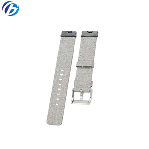 Low MOQ Custom 20mm 22mm Cotton Fabric Watch Straps in stock Now