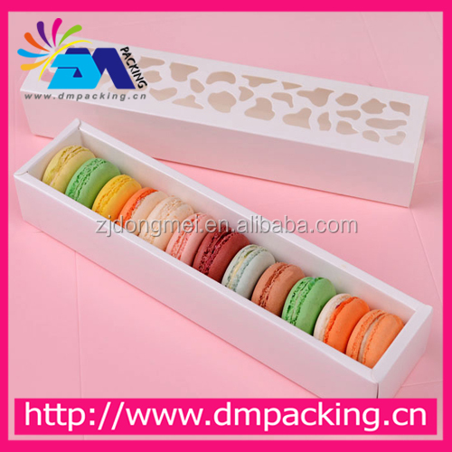 Cookie Cake Macaron Chocolate Kraft Paper Box Christmas Birthday Party Gifts Packaging Boxes