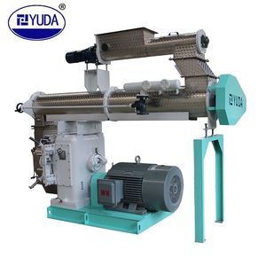 YUDA SZLH420 Fast supplier pellet machine poultry feed granulator pellet mill