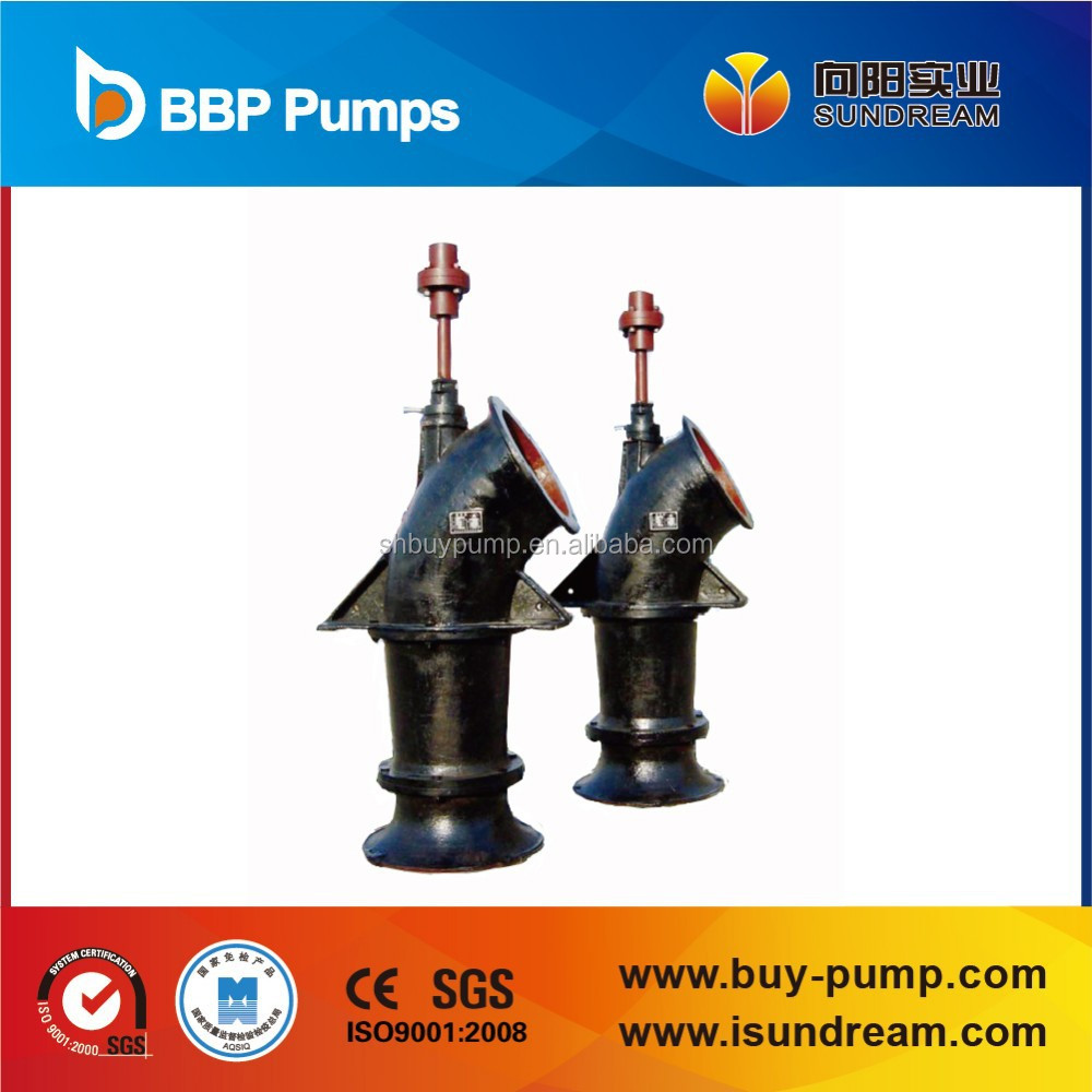 ZLB Submersible Axial flow pump propeller type