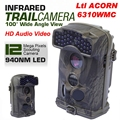 Free Shipping Brand Original Ltl Acorn 6310WMC 12MP HD 1080P 100 degree Wide View 940nm Trail