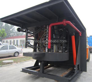 1 Ton Steel Melting Induction Furnace