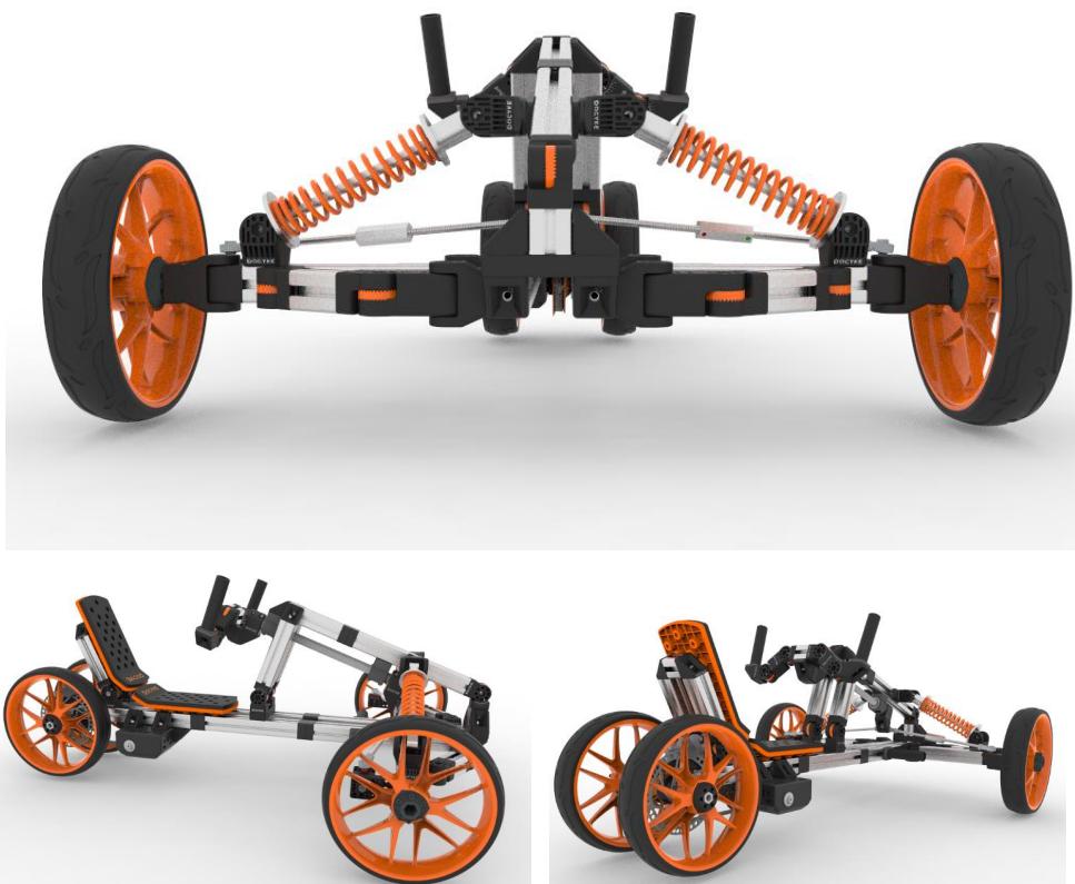 New design DIY Creative Multi-function outdoor kids go kart,electric child  racing go kart,Kids Electric Go Kart (ten in one)