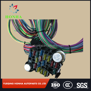 Swell Universal 12 Circuit Wiring Harness Basic Electronics Wiring Diagram Wiring 101 Photwellnesstrialsorg