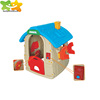 plastic playhouse toys Role play house for kids