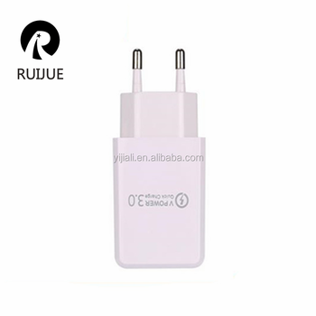 OEM Fast Charger, US/EU 5 V 3A USB Wall Charger With Smart IC