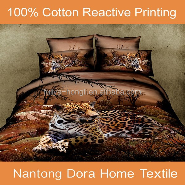 Factory Direct Selling 3D Animal Comforter Bedding Set on Sale