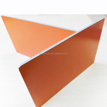 Nano orange 4*0.5mm fire retardant core Aluminum composite panels ACP