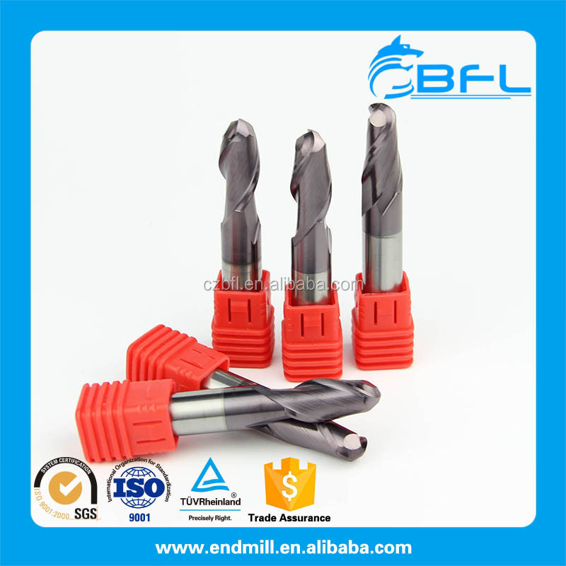 BFL good price solid carbide ball nose end mill cutter manufacture