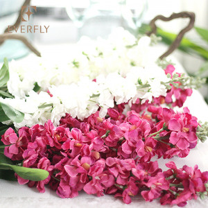 China real touch best quality Christmas wholesale violet artificial flower