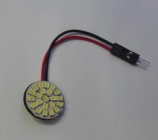 Крытый лампа для чтения яркий круг led1206 автомобиль свет