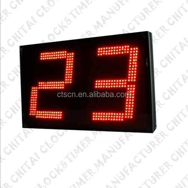 Days Seconds Countdown LED 2 Digit Timer Dot Matrix Display