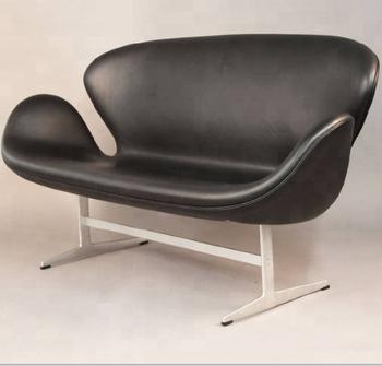 Designer Furniture Arne Jacobsen Clic 2 Seater Lounge Swan Sofa For Bedroom