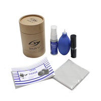 OEM/ODM 5 in1 Camera LCD Screen Cleaning Kit In Paper Tube Packing