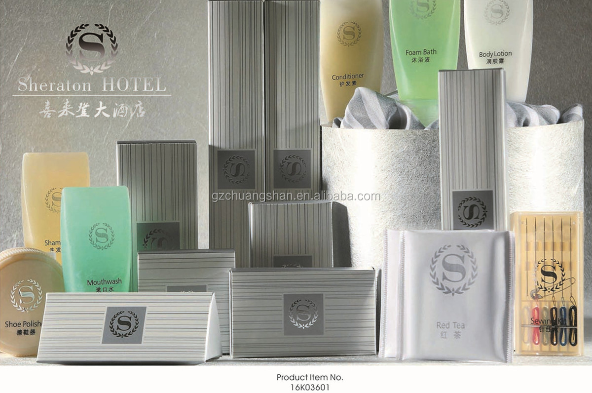 Five Star Hotel Eco Friendly Consumable Amenities