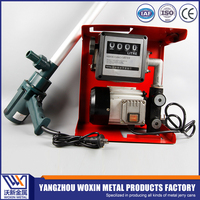 Portable electric metering heavy diesel oil transfer pump