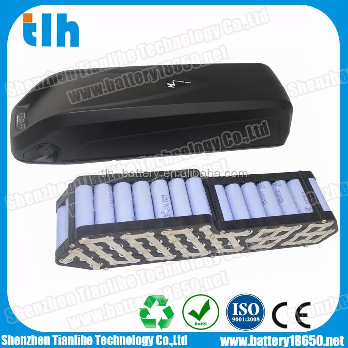 36v 11.6ah electric bike lithium battery pack UL certified