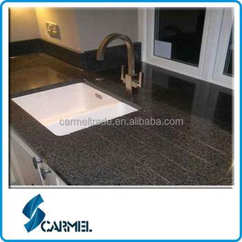 China black man made granite countertops buy man made for Synthetic countertop materials