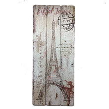 OEM/ODM multi size wall wooden plaque painting designs with scenery art decoration painting