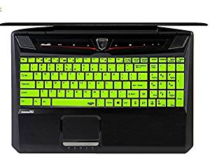 GE62 MSI GS60 WS60 Workstation PE 60 PE70 series Ghost GT72 Dominator // Pro Gaming Laptop Silicone Keyboard Protector Cover Semi GE72 GS70 Leze Black