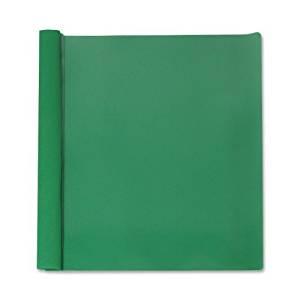 "Report Cover (25 Per Box) Size: 1.5"" H x 9.8"" W x 11.97"" D, Back Color: Green"