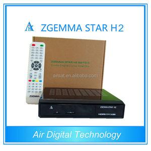 cloud ibox 3 upgraded version original zgemma star h2 with DVB-S2+  HybridT2/C tuner Set Top Box satellite receiver