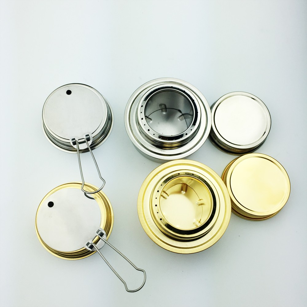 Mini Portable Alcohol Stove For backpacking camping hiking