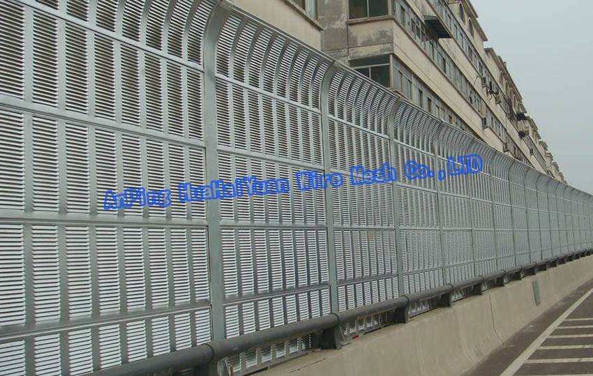 Anti noise barrier price for sale highway noise reduction wall panels ( manufacturer )